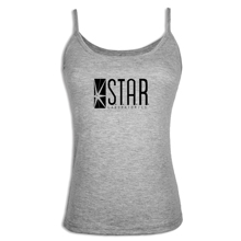 iDzn sexy Womens Camisoles STAR Laboratories The Flash TV Series S T A R Labs Lady