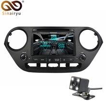 Sinairyu Android 8.0 Octa Core Car DVD Player for Hyundai Grand i10 2014 2015 GPS Navigation Multimedia Radio Stereo Head Unit