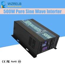 Micro grid tie inverter 12V/24V 500W Peak Power Inverter Voltage Convertor Transformer 48V Automatic Adaptable цена