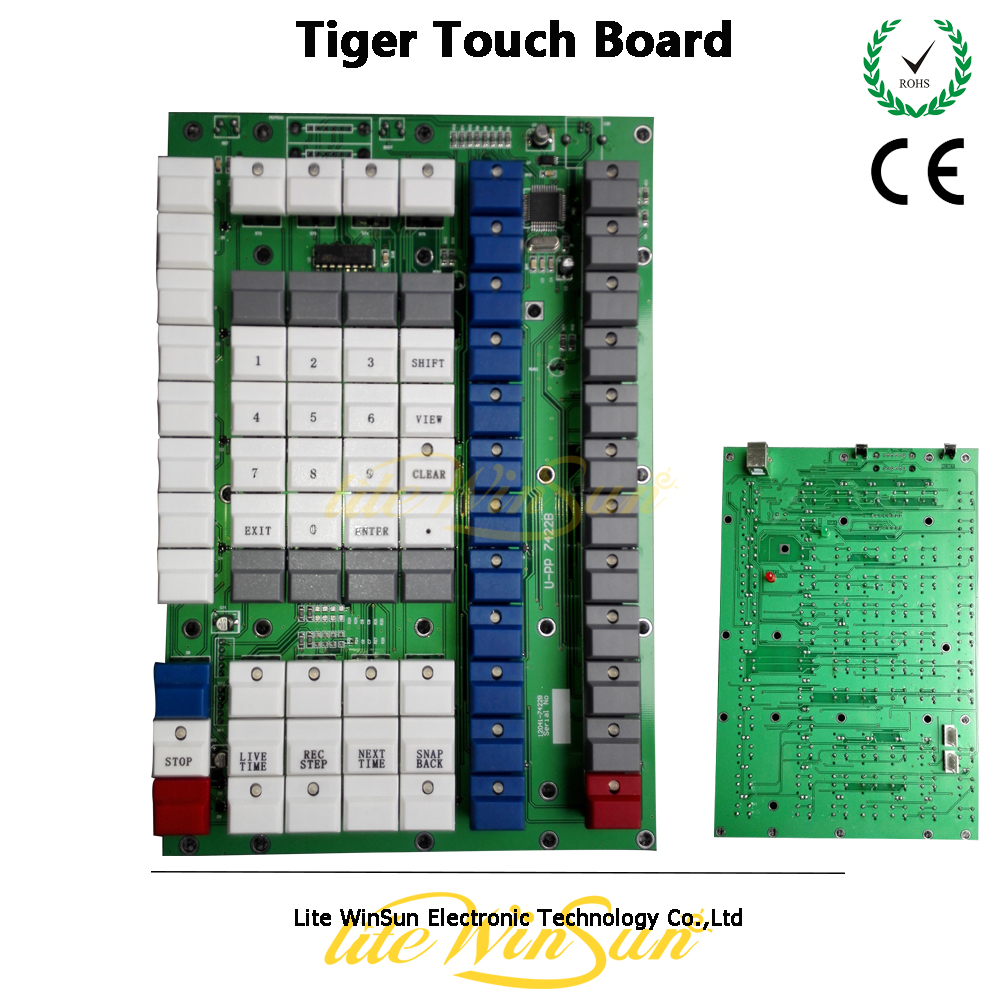 Litewinsune 1PC Free Ship New Main Board for Tiger Touch Console Control Panel fast free ship 16m flash csr8670 development board debug board demo board emulation board adk3 5 1 adk3 0 i2s spdif