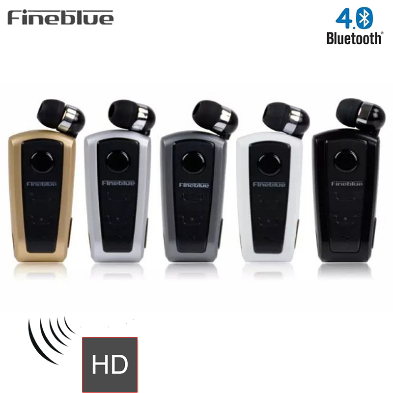 Fineblue F910 Wireless Bluetooth Earphone Calls Remind Vibration Headset With Collar Clip For IPhone Samsung Handfree Call wireless bluetooth earphone fineblue f sx2 calls remind vibration headset with car charger for iphone samsung handfree call