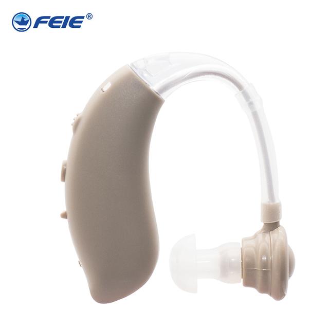 Medical Ear Apparatus Rechargeable Mini Headphone Hearing Aid S-25 Listen Device Earphone Deaf Equipment Free Shipping