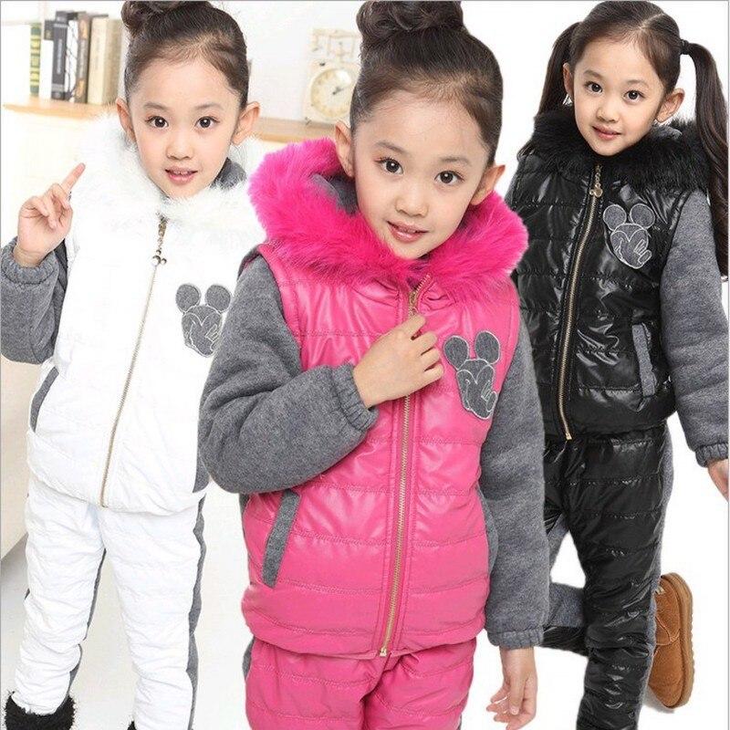 ФОТО JWTong Set New Large child Autumn winter children's clothing children's clothing wholesale children's sports suit