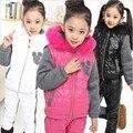 Jwtong Estabelecer Novos Grandes criança roupas Outono inverno das crianças roupas por atacado das crianças das crianças esportes terno
