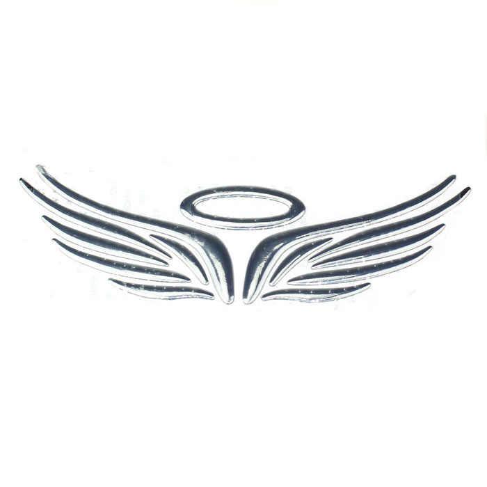 Стереоскопический мягкой Пластик крыло эмблема значок автомобиля Наклейка Стикеры Щепка для honda crv 2008 civic 2006-2011 Город для bmw e87 e83 N