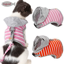 Mesh Pet Cat Harness collars vest and Leash Set Breathable Cats Kitten Tuigje Collar adjustable Harnesses Vest for Small Cat