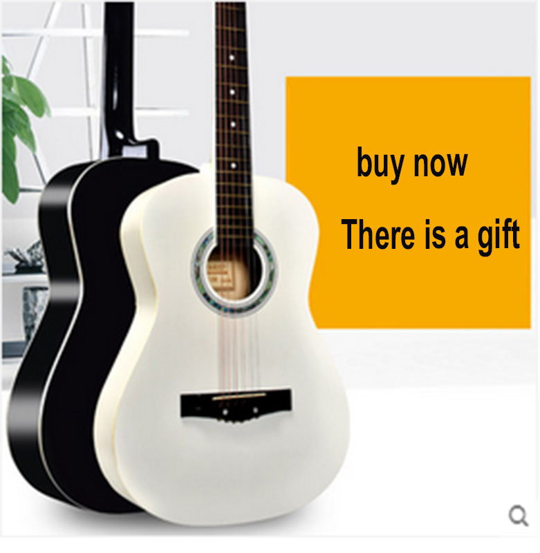 Guitar guitar 30 inch 34 inch 36 inch student male and female entry guitar beginner novice practice jita instrument diduo 40 inch 41 acoustic guitar beginner entry student male and female instrument wound guitarra