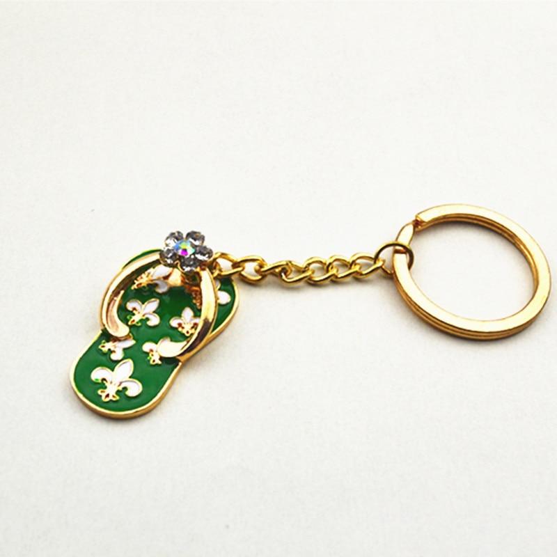 Nové boty klíčenky řetězy drahokamu klíče od auta, dámská kabelka přívěsky přívěsky na klíče přívěsky módní křišťálový klíč na klíče
