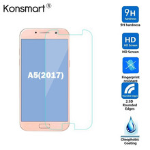 Фотография  For Samsung Galaxy A5 2017 Ultrathin Screen Protector Tempered Glass Anti-Explosion Protective For Samsung Galaxy A5 2017 Glass
