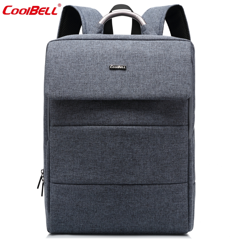 купить Cool Bell Brand 15.6 inch Laptop Computer Backpack New Fashion Business Backpack Men Women School Bags for Teenagers Boys Girls по цене 2033.81 рублей