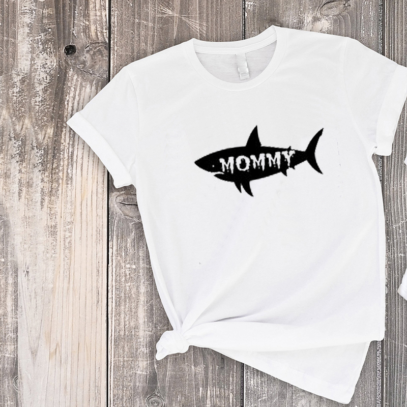 Matching Outfits Daddy And Son Matching Clothes 2019 Family Tshirt Dad And Baby Tee Shark Family Shirts Bestfriend Tops