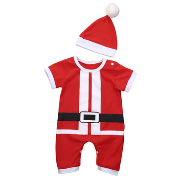 Christmas Santa Baby Dress For Baby Boy And Baby Girl 1