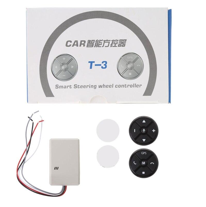 Volante Do Carro Universal DVD GPS Sem Fio Inteligente Botão Chave de Controle Remoto