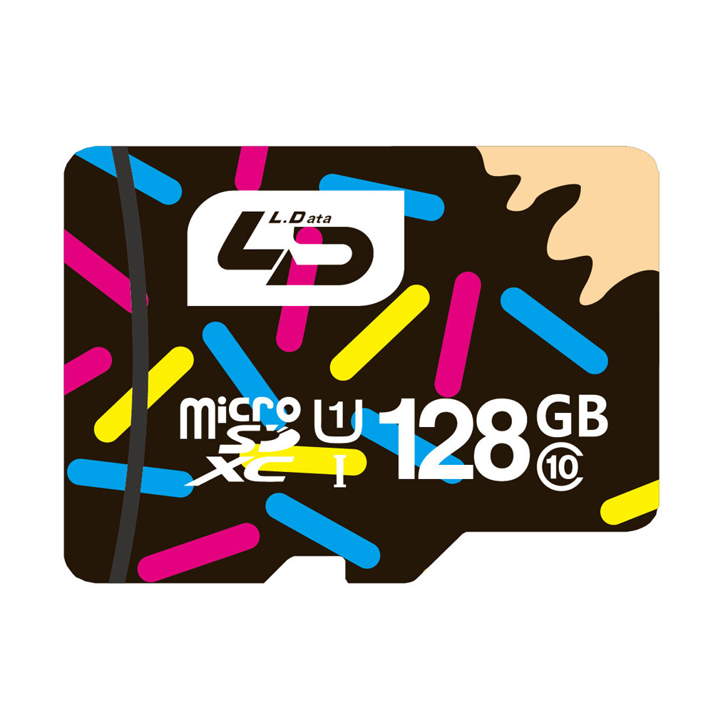 LD Micro SD Card TF Memory Card Micro SD 128GB Class 10 UHS-1 Microsd for Tablet/Smart Phone/Digital Camera/Digtal Device samsung micro sd card memory card 128gb class10 waterproof tf carte sd memoria sim card trans mikro card 128gb for mobile phone