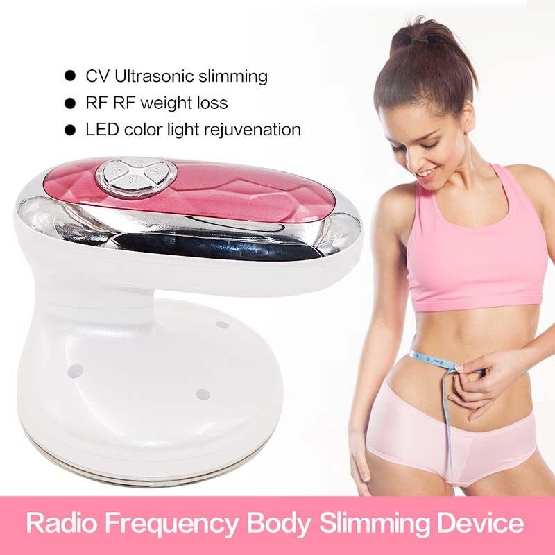 RF Cavitation Machine Ultrasonic Ultrasound Photon Radio Frequency Anti Cellulite Body Slimming Massager Fat Weight loss