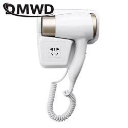 Сушилка для волос DMWD с горячим/холодным воздухом, электрическая настенная сушилка для волос, для отеля, ванной комнаты, с подвесной щеткой, в...