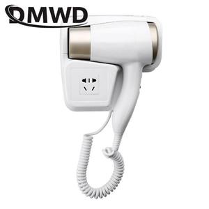Image 1 - DMWD חם/קר רוח לפוצץ מייבש שיער חשמלי קיר הר מייבשי שיער מלון אמבטיה יבש עור תליית מברשת אוויר מפוח עם Stocket