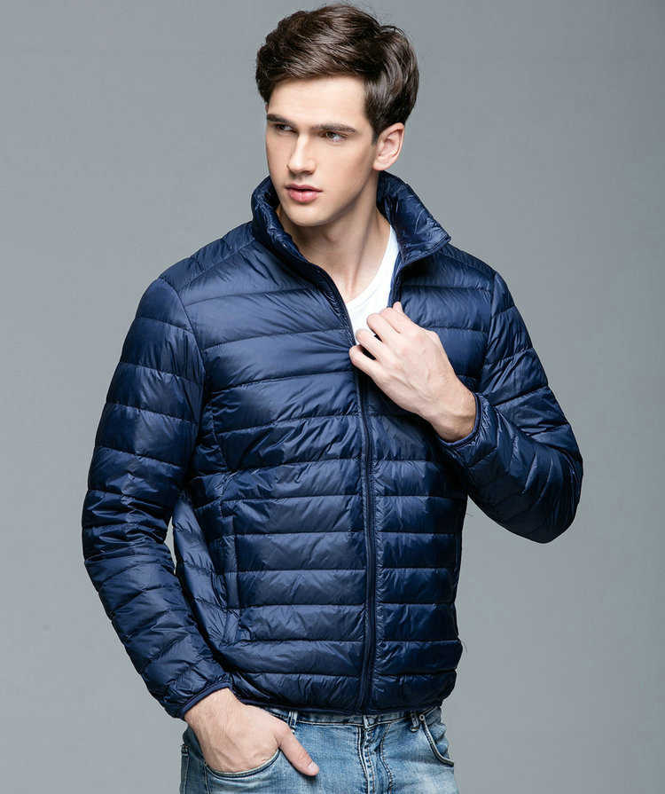 53cc428561ff5 2018 осень-зима Для мужчин s вниз теплая куртка парки Пальто Для мужчин  легкий Стенд