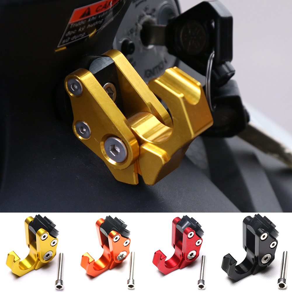 NMAX Motorcycle  Scooter CNC Aluminum Alloy Luggage Helmet Bag Nmax Folding Hooks For Yamaha RC150 LC150 Nmax 155  2016-2019