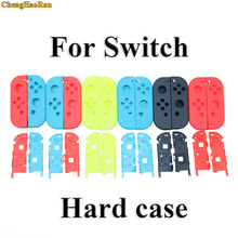 ChengHaoRan 7 colors Available Hard Plastic R L Housing Shell Case Cover for Switch NS NX Joy Con Controller for Joy-Con frame цена 2017