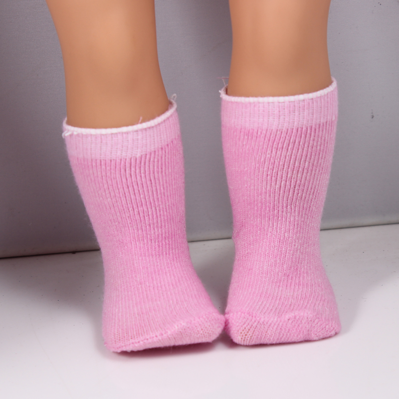 Hot Sale Socks Fits 18 Inch American Girl Doll American Girl Socks Accessories DS35