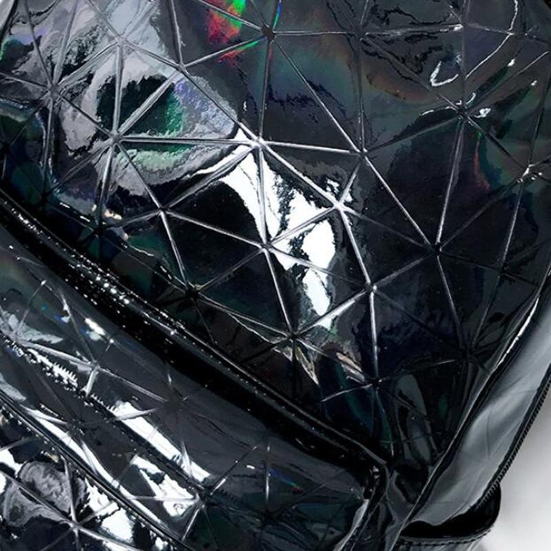 HTB1vjE9XjzuK1RjSspeq6ziHVXau Large Travel Bags Laser Backpack Women Men Girls Bag PU Leather Holographic Backpack School Bags for Teenage Girls fashion bag