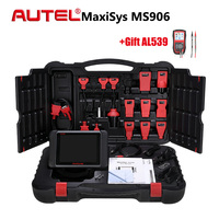 Original Autel MaxiSys MS906 Professional Car Diagnostic Tool Automotive Scanner OBDI OBD2 Auto Scan Tools Active Test Universal