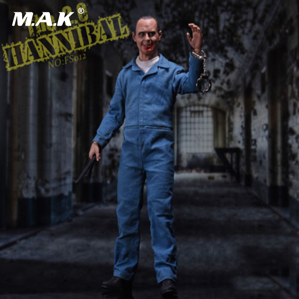 1/6 Scale 12'' Man Full Set Action Figure SW Ourworld FS012 Hannibal Lecter 2.0 Doll Toy with 2pcs Head Sculpt figure driving racer maintenance workers 1 18 2pcs set