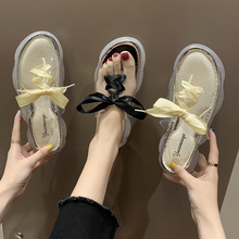 women sandals Beach slippers summer transparent students outdoor flat bottom zapatos de mujer plataformas mujer sandalias wedges rhinestone slippers women colorful crystal studded flat beach shoes women outdoor cozy mules summer sandals zapatos mujer