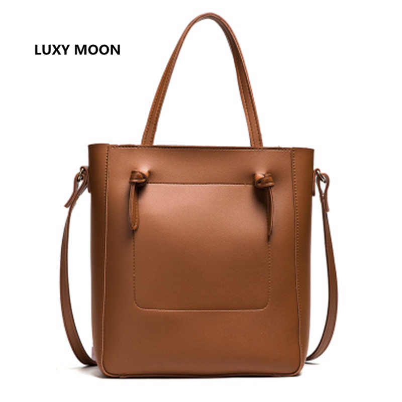 Luxury Handbags Women Bags Designer Solid PU Leather Large Totes sac a main High Quality Shopping Fashion Over Shoulder Hand Bag hongu high grade leather handbags crocodile pattern large ladies hand bags luxury purse with shoulder strap sac a main femme