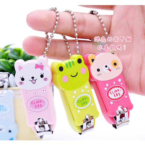 Min. Order is $10 ( Can Mix order ) ! A377 cartoon finger scissors finger nail clipper plier nail art small delicate gift