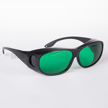 O.D 4+ laser protective glasses for 635nm 650nm 660nm red laser and  755nm alexandrite lasers CE certified with style 9