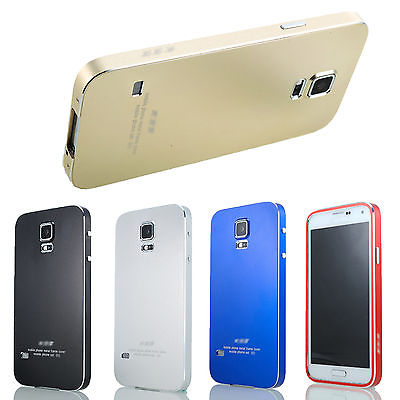 buy online 4fdcf 057a3 US $14.54 |Brand New Fashion Ultra Thin All Metal Aluminum Case Cover for  Samsung Galaxy S5 i9600 Phone Case Back Cover Protective Shell on ...