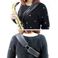 MoonEmbassy Saxophone One Shoulder Strap For Soprano Ato Tenor Sax