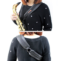 MoonEmbassy Saxophone One Shoulder Strap For Soprano Ato Tenor Sax