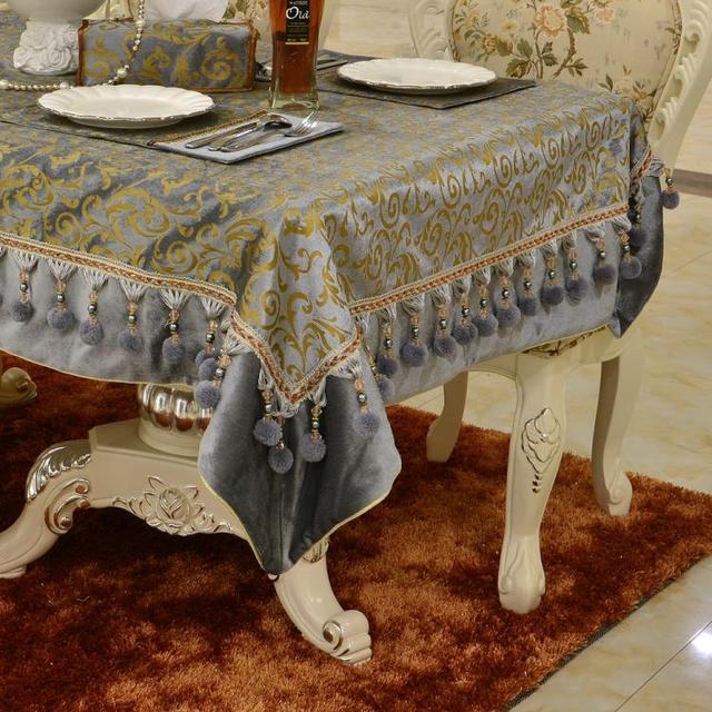 Luxury high end floral lobes European velvet gold foil rectangle