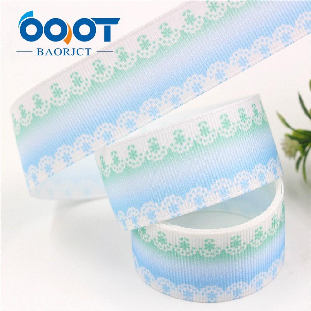 Rainbow Printed Grosgrain Ribbons Colorfuls Ribbon Diy Handmade Materials Crafts