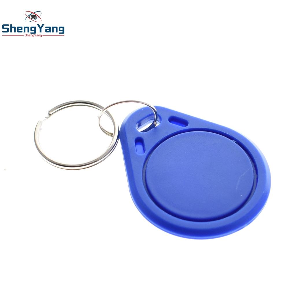 10 adet ShengYang 13.56MHz RFID anahtar etiketleri Keyfobs jetonu NFC TAG anahtarlık Arduino için izle breadboard kanal çanta regülatörü