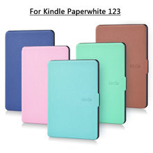 Fall für funda Kindle Paper 1 2 3 6 ''Abdeckung Super Slim Auto Wake up/Schlaf Smart PU fall für Kindle Paper 3 capa para(China)