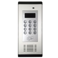 GSM Access Control System Apartment Intercom Supports Dial /RFID to Open Door