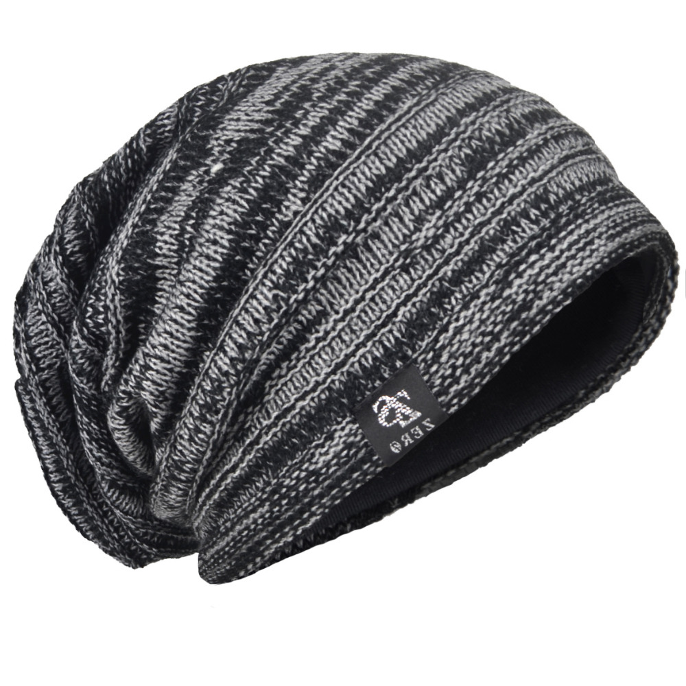 992733571164c Detail Feedback Questions about HISSHE Retro Men Slouch Beanie Cap Baggy  Classic Striped Knitting Beanie Skullcap Good Quality Acrylic Soft Winter  Hat on ...