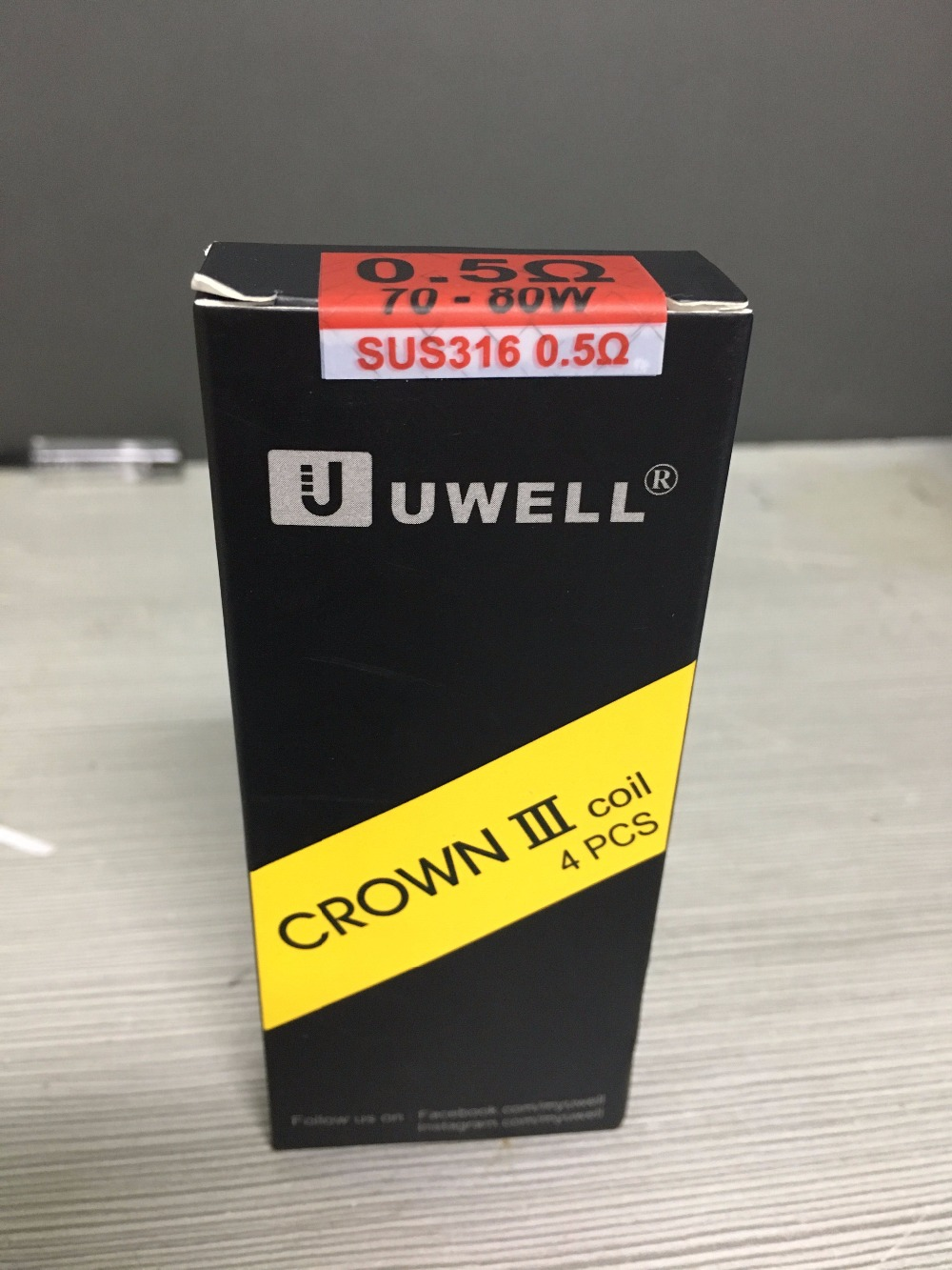 20pcs lot Original Uwell Crown 3 Coils Uwell Crown III Tank Coil 0 25ohm 0 4ohm