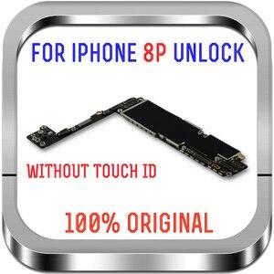 Image 3 - Temiz iCloud iPhone 8 için artı anakart 64gb 256gb unlocked iPhone 8 için artı mantık kurulu ile dokunmatik ID cips MB LTE 4G