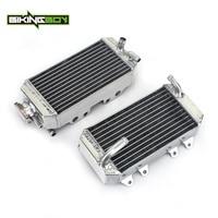 BIKINGBOY Aluminium MX Offroad Engine Radiator Cooler Cooling For Honda CRF150R CRF 150R 150 R 07