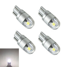 4Pcs T10 Bulbs W5W 501 Turn Signal Light Canbus Lights LED COB SMD 3030 Bright White led  High Power tuincyn 2pcs t10 w5w 194 3030 smd led bulbs small size high power t10 lamps for signal clearance sidemarker lights universal led