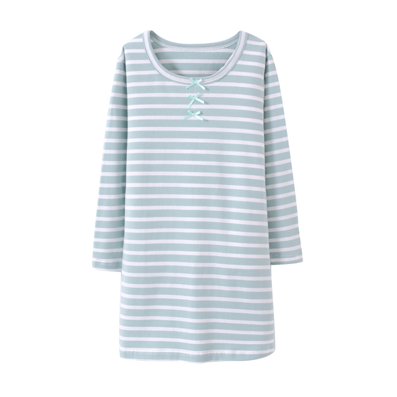 VIDMID Girls Summer Dress Baby Clothing Brand Kids Dresses for 3-12 years Girls striped long sleeve cotton Clothes dress 7010 37