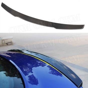 Voor XE Achterspoiler Boot Lip Vleugel Voor Jaguar Sedan 4-Deur 2015-2018 K Stijl Kofferbak Bekleding sticker Spoiler Carbon Fiber/ABS