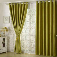 Modern Simple Thickened Pearl Velvet All Shade Curtain Fabric And Tulley Living Room Bedroom Balcony Curtain