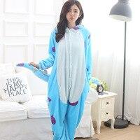 Blue Monster University Sulley Sullivan Onesies Payjamas Cartoon Costume Cosplay Pyjamas Party Dress Pajamas NORIVIIQ 03