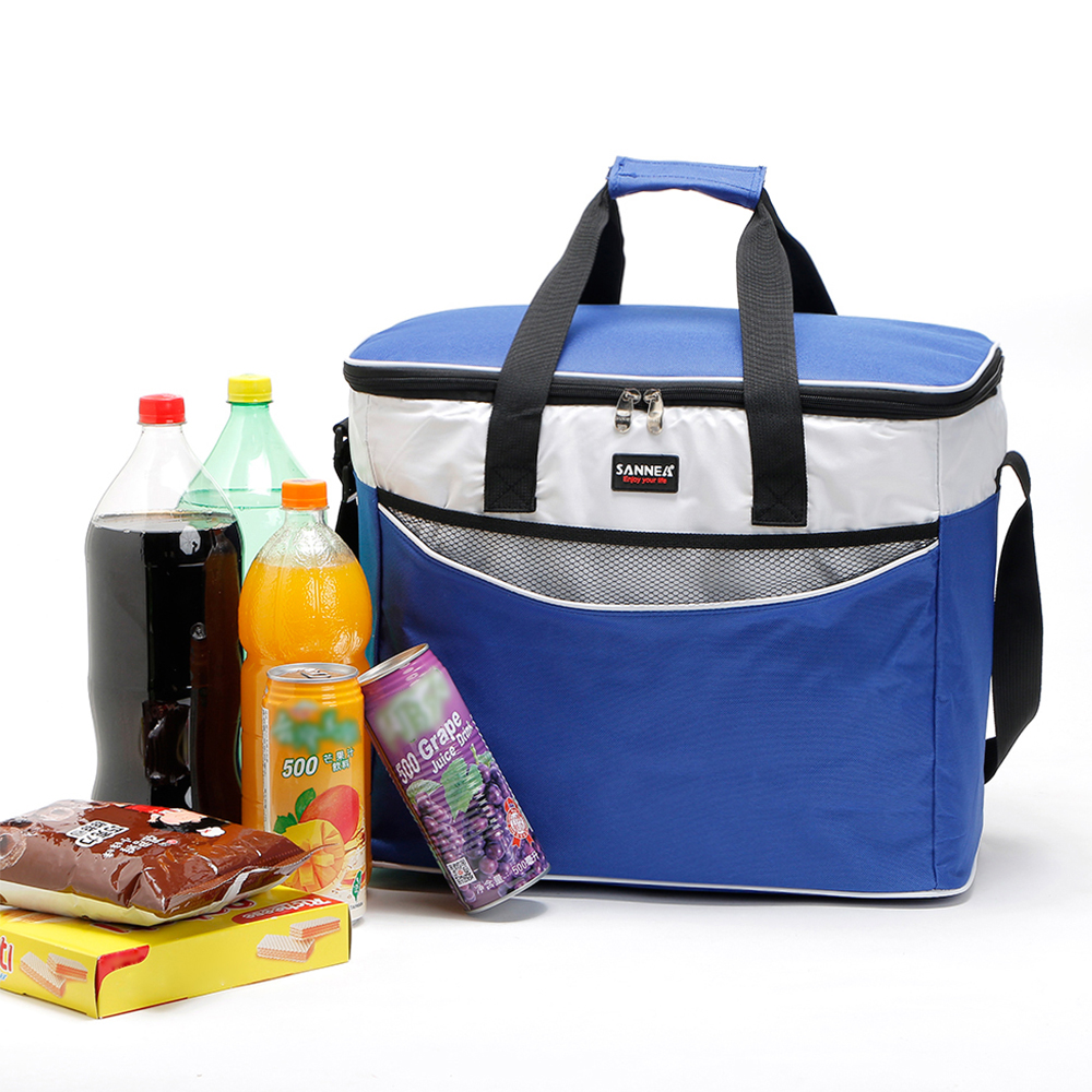 Lixada 34L Outdoor Insulated Bag Cooler Lunch Tote Thermal Bento Bag Camping BBQ Picnic Food Freshness Insulated Cooler Bag-in Picnic Bags from Sports & Entertainment